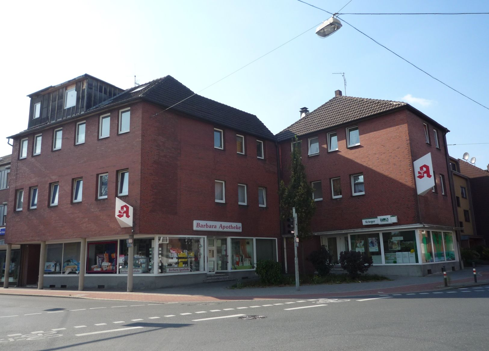 Holtener Straße  Ecke Postweg, Oberhausen