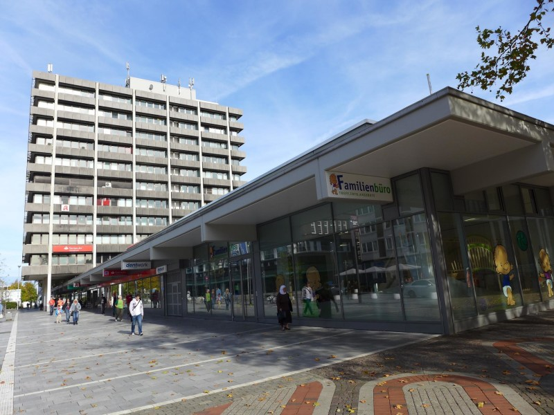 Eberthaus – Kanzlei- und Ärztehaus mit Ladenpassage in Gelsenkirchen