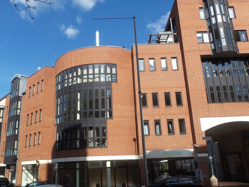 """Wohn- und Gewerbekomplex """"City Terrassen"""" in Bonn – Bad Godesberg"""