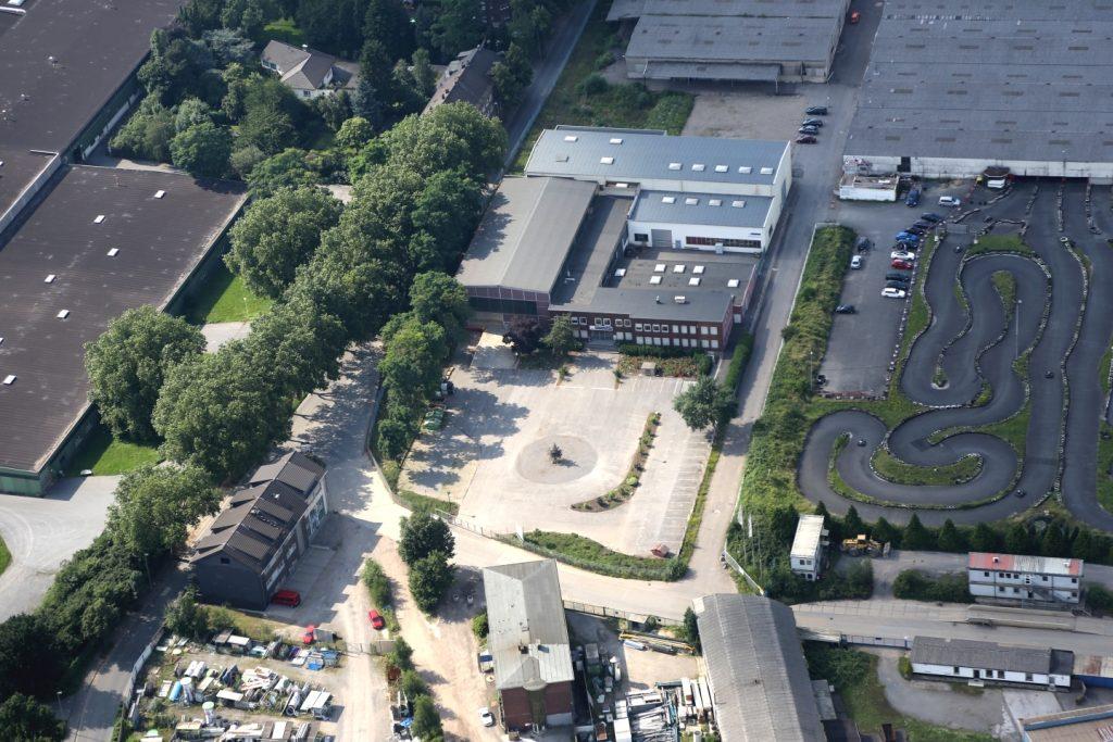 Gewerbeobjekt in Dinslaken NRW Luftbild Front