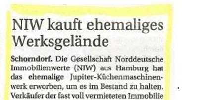 IZ berichtet über Beier Immobilien